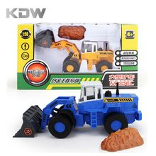 KDW Kaidiwei 1:50 Scale  Cars Forklift Toy Forklift Truck Model Toys for Children Gift Toys Hobbies Educational Boy Technic DIY