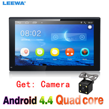 "7"" 7inch Ultra Slim Android 4.4.2 Quad Core Car Media Player With GPS Navi Radio For Nissan/Hyundai 2DIN ISO WIFI  Get: Camera"
