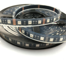 16.4ft Black PCB 5050 RGB LED Strip 5M 300 LEDs Flex SMD Light 60led/M IP68 Underwater