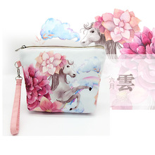 New Women Bags Fashion Coin Bags Canvas 6 Colors Women Coin Purse Women Wallet Travel Organizer Storage Bag Day Clutch H13N(China)