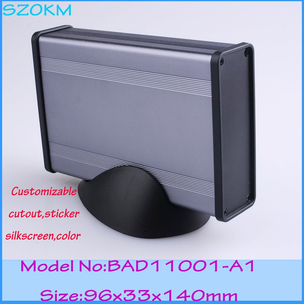 4 Pcs lot colors aluminum box for electronics  aluminum enclosure box case aluminum diy for electronics device 96*33*140mm<br><br>Aliexpress
