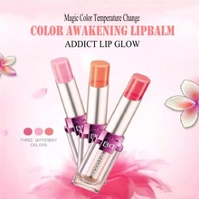 Bqcover COLOR AWAKENING LIPBALM Brand Magic Color Temperature Change Moisturizer Bright Surplus Lipstick Lips jelly lipstick(China)