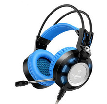 Original K6 Gaming Headphones Wired Bass Headset With Noise Cancelling Video Game For Computer Laptop White/Blue/Green/Orange/Re