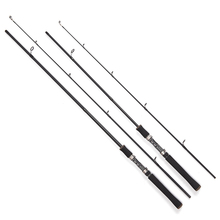 Lure Rod 1.8M 10-25g  Carbon Fiber Spinning Lure Fishing Rod Power:M Carbon Lure Rods Fishing rods