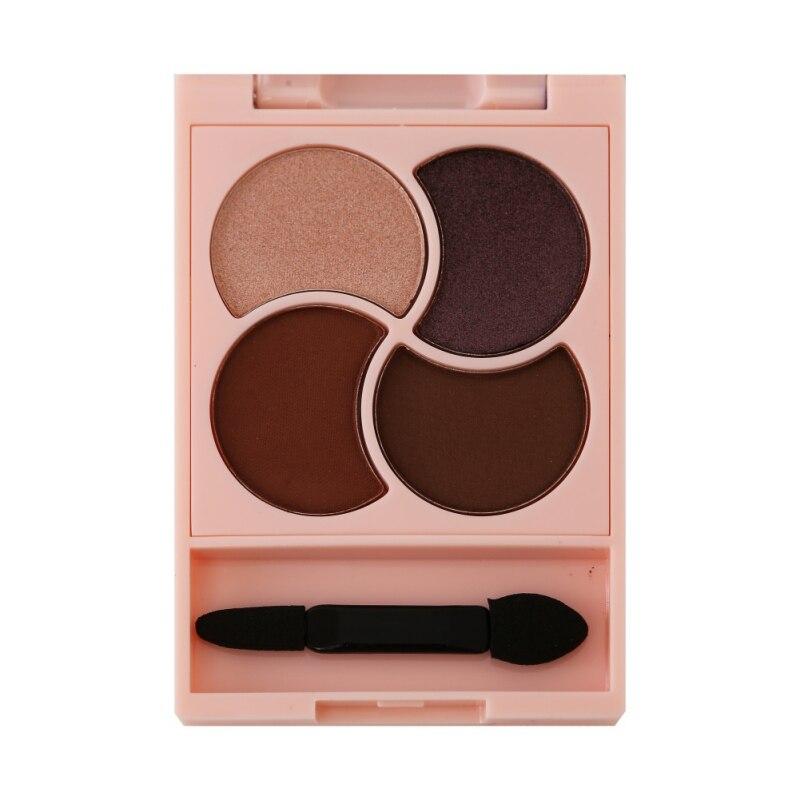 Makeup Glitter Eye Shadow Cosmetics 4 Colors Eyeshadow Pallette Professional Make Up Matte Eyeshadow Pallete