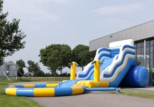 (China Guangzhou) manufacturers selling inflatable slides,Pool slides CTB-219