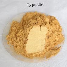 Type 306 Gold  Pigment Pearl powder dye ceramic powder paint coating Automotive Coatings art crafts coloring for leather