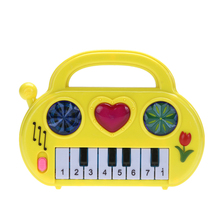 Kids Music Toy Piano Electric Musical Developmental Cute Piano Children Sound Educational Toy Random Color