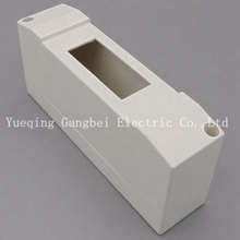 1 ways Plastic distribution box for circuit breaker indoor on the wall(China)