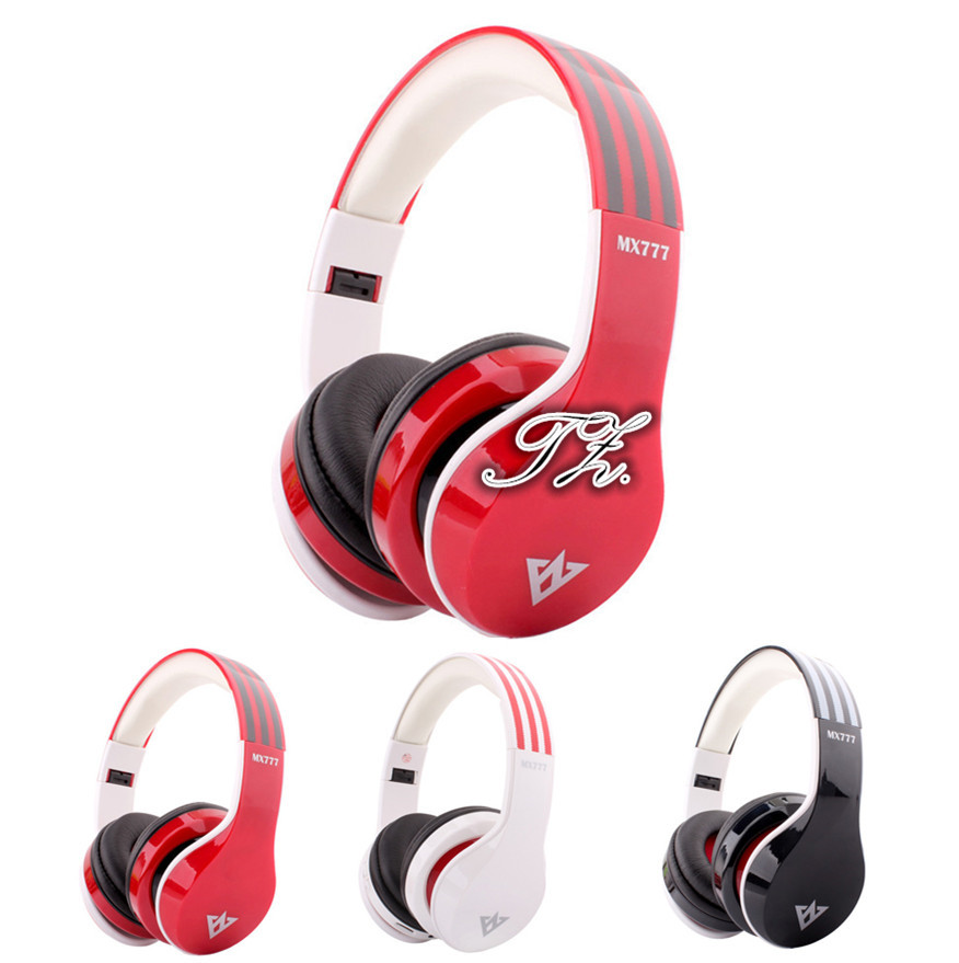 Hot MX777 headphones shooting Brake Wireless Bluetooth Headphones Version Stereo Bluetooth Headset built-in Mic for calls<br><br>Aliexpress