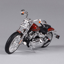 1:12 Maisto Motorcycle Model Toy, Alloy & ABS Harley 2014 CVO Breakout Motor, Simulation Mini Motorbike Car Toys, Brinquedos(China)