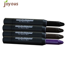One-time Cover Hair Highlights Emergency Hair Dying Pen Cover White Hair For Joyous Brand(China)