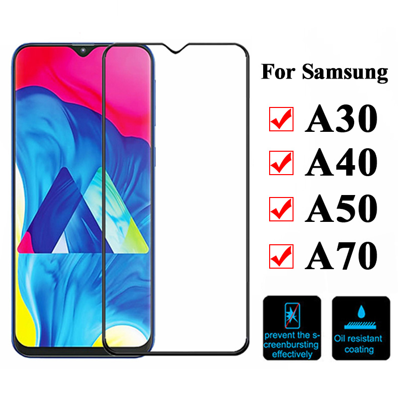 Tempered-glass-for-samsung-galaxy-a30-screen-protector-a40-a50-a70-on-samsong-protective-film-a