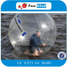 Factory Price 2m PVC German Zipper Inflatable Bump Ball Water Walking Ball Soccer Zorb Ball