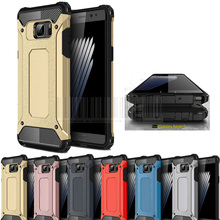 Dual Layer Heavy Duty Hybrid Armor Case Shockproof Impact Resistant Hard Cover For Samsung Galaxy Note FE SM-N935 / Note 7 New(China)