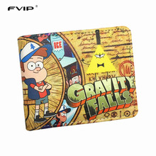 FVIP New Gravity Falls  Wallet /Lord of The Rings/Zelda /Clash of Clans/Sesame Street Short Wallets With Card Holder Men's Purse
