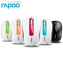 Original Rapoo M211 Mini Optical Wireless Mouse 2.4G Reliable 1000DPI Mice Nano USB Receiver Mouse For Computer Laptop Desktop(China)