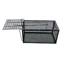 GSFY-Humane Rat Cage Trap Live Animal Catcher No Poison Pest Control Indoor+Outdoor Black(China)
