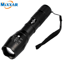LED Torch Zoomable Cree LED Flashlight E17 CREE XM-L T6 LED 4000 LM Torch Light for 1x18650 3xAAA Rechargeable Battery Light