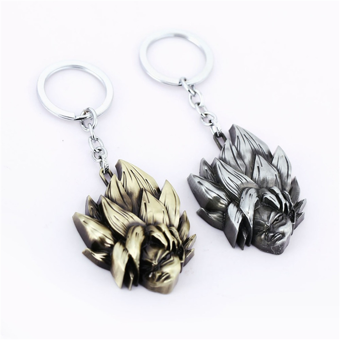 DRAGON-BALL-Key-Chain-Super-Saiyan-2-Son-Goku-Key-Rings-For-Gift-Chaveiro-Car-Keychain