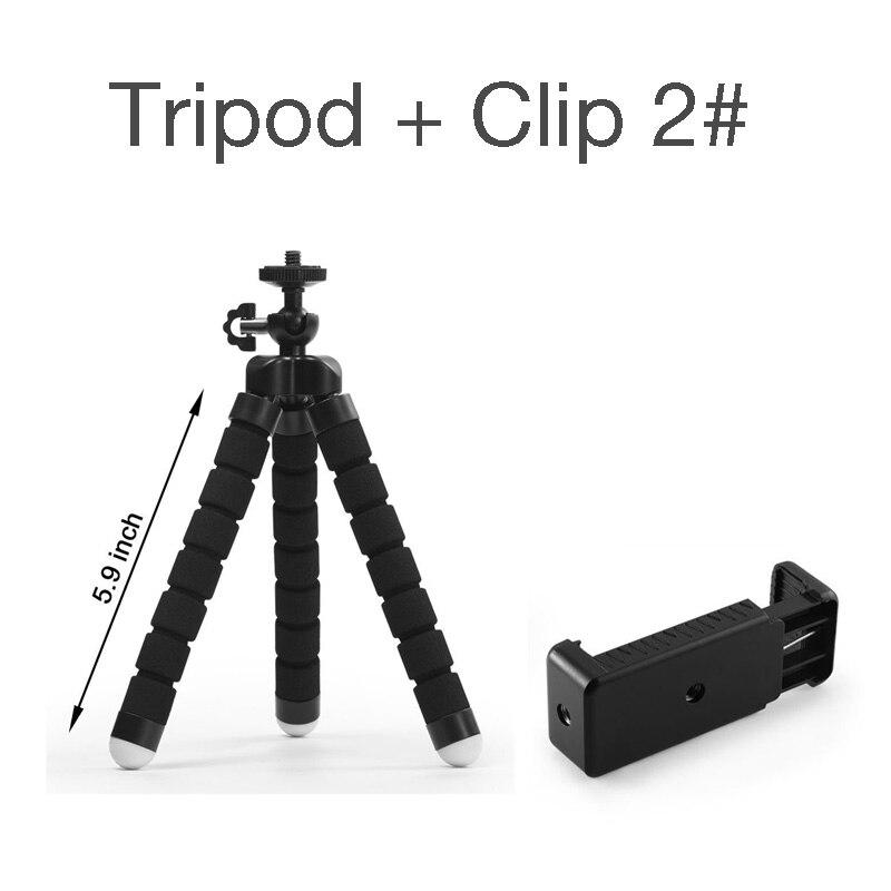 DUSZAKE Flexible Gorillapod Mini Tripod for Phone Camera Accessories Tripod Selfie Stick for iPhone Samsung Xiaomi Huawei Gopro