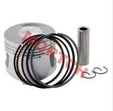 GY6 50cc 39mm Piston Assy with Ring and Pin 1p39qmb for Scooter Moped ATV (Free Shipping)