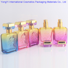 BP-147 50 PieceS 30ml High Quality Perfume Glass Bottles Rose Shaped Spray Parfum Bottles Colorful Glass Atomizer Refillable