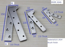 "8PCS/LOT 150mm(6"") Stainless steel Inset Door Pivot Hinge Knife Hinges Cabinet Cupboard(China)"