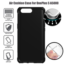 Durable TPU Air Cushion Shockproof Absorbing Anti-Scratch Protective Bumper Back Case For Oneplus 5 A5000 5.5inch