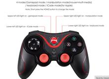 Buy Game Accessories Wireless Joystick Bluetooth 3.0 Gamepad Gaming Controller Remote Tablet PC Android & IOS Smartphone for $9.90 in AliExpress store