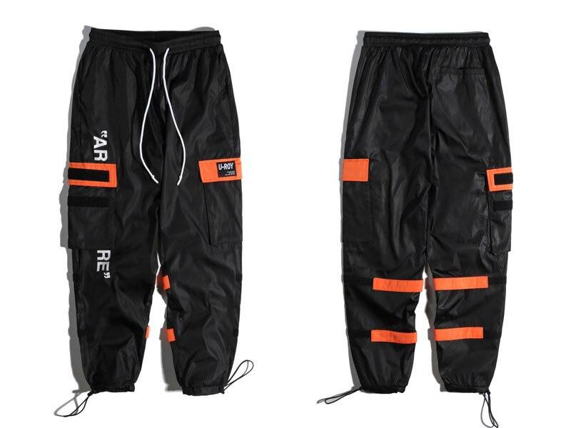 Side Pockets Cargo Harem Pants 3