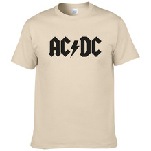 Rock band AC DC t shirt men 2017 summer 100% cotton fashion brand ACDC men t-shirt hip hop tees for fans #149