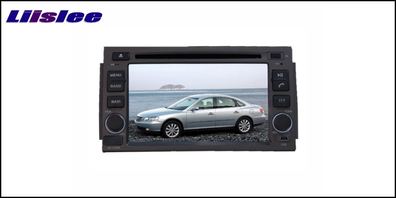 For HYUNDAI AZERA 2005~2011 LiisLee Car Multimedia TV DVD GPS Audio Hi-Fi Radio Original Style Navigation Advanced NAVI 2