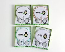 KN-519 In Ear Microphone Childrens Cartoon my neighbor Totoro Headphones casque audio headset For A Mobile Phone