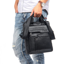 100% Genuine leather Top Handle Shoulder Male Bag Leather Briefcase Natural Cowhide Messenger Men Cross Body Bag Tote Handbags