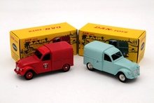 Lot of 1:43 CIJ Atlas DAN 019 021 Citroen 2CV Diecast Cars Model Collection Hobbies Limited Edition(China)