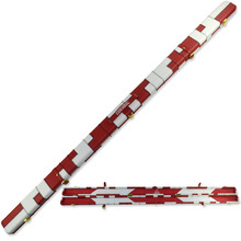 Free Shipping CUESOUL White Red 1 Piece MDF Sturcture PU Leather Billiard Snooker Cue Case(China)