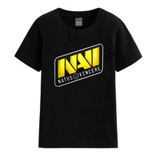 Children's T-shirts for girls boys 2017 summer NAVI logo Natus Vincere 100% cotton t shirt baby crossfit brand clothing T-shirt