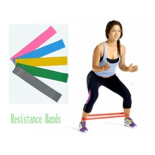 Unisex Resistance Band LOOP Light/Med/Heavy Exercise Sports Yoga Exercise Tubing Strap