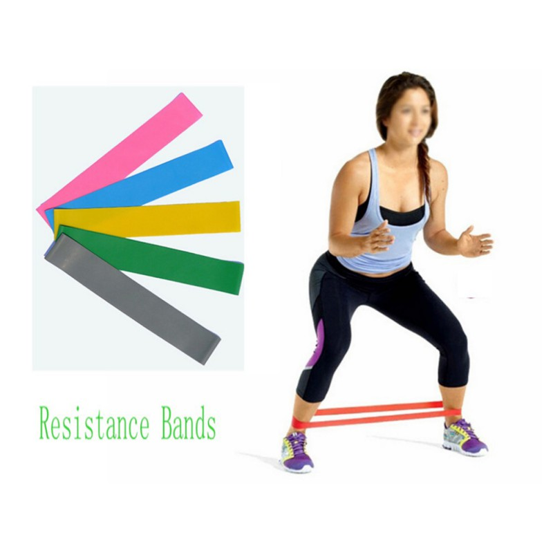 Unisex Resistance Band LOOP Light/Med/Heavy Exercise Sports Yoga Exercise Tubing Strap<br><br>Aliexpress