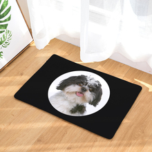 2017 New Big Head Dog Print Carpets Non-slip Kitchen Rugs for Home Living Room Floor Mats 40x60cm(China)