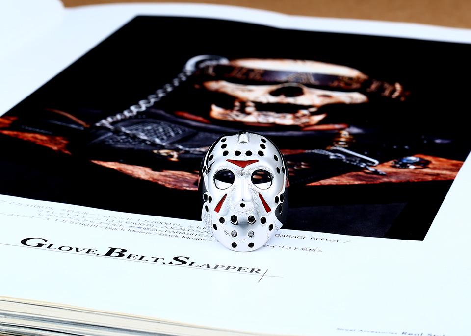 แหวนแฟชั่น Code 059 Friday 13 Series 2 สแตนเลส หน้ากากเจสันโหดๆ2
