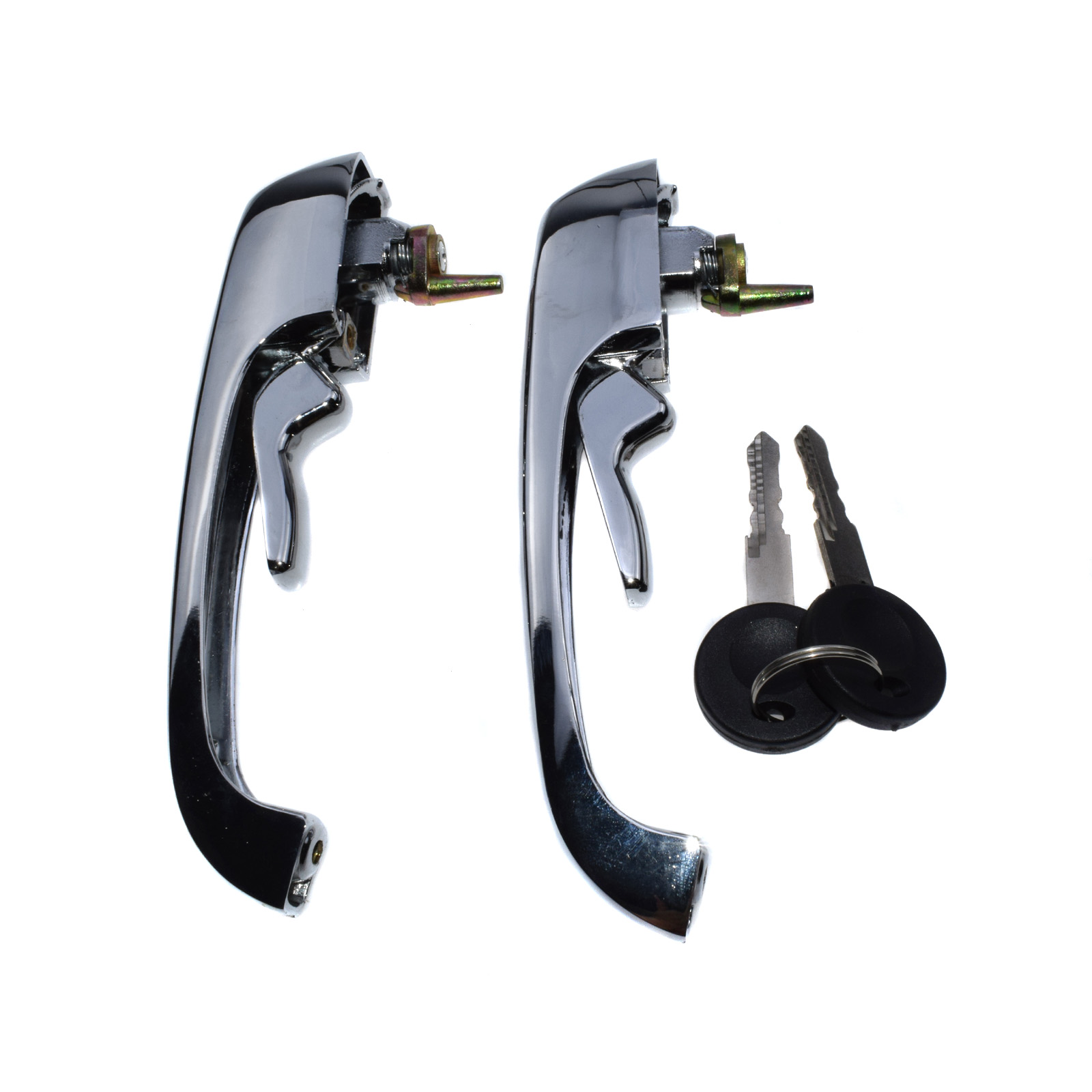 NEW VW Campmobile 69-79 Set of 2 Front Outside Door Handles Euromax 211 837 205N