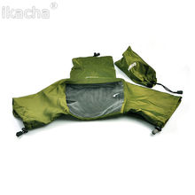 5pcs Green Camera Rain Cover Coat Bag Protector Rainproof Waterproof Against for Canon for Nikon for Pendax for Sony DSLR SLR