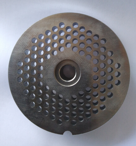 electric meat grinder parts stainless steel SS420 meat hole plate 4.5mm or 6mm<br>