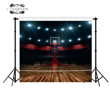 Basketball Field Photography Studio Backdrop Background(China)
