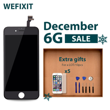 WEFIXIT 10pcs/Lot Grade AAA++ For lcd iPhone 6 touch screen digitizer frame assembly replacement Free shipping(China)