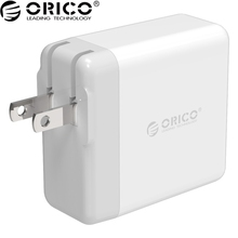 ORICO 2 USB Ports Charger Output DC 9V/2A 36W Max Built-in Intelligent IC USB Plug Phone Charger For iphone For Samsung