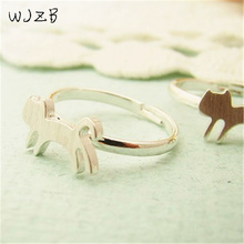 Fashion cat ring, kitten running style of ring, 'the cat ring series 2