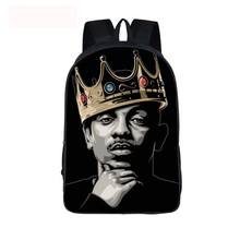 2pac tupac Hip Hop Book Bag For Teenage Children School Bags Only God Can Judge Me Backpack Boys Girls Hipster Laptop Backpack(China)